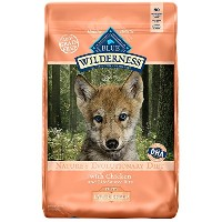 BLUE Wilderness High Protein Grain Free Puppy Dry Dog Food (Large Breed Chicken, 24LB) [並行輸入品]
