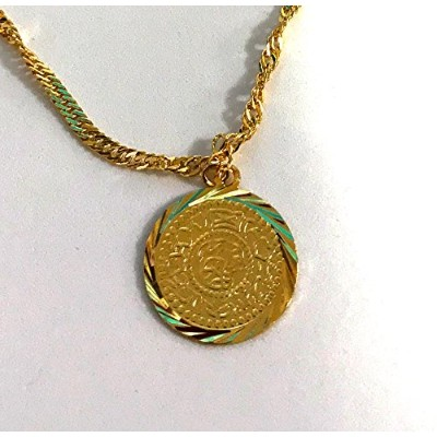 24K Gold Plating Coin ネックレス