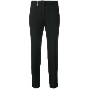 Peserico cigarette trousers - ブラック