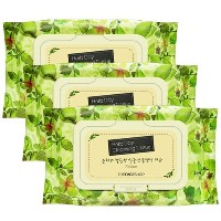 [the faceshop] Herb Day Cleansing Tissue ship from korea