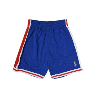 【送料無料】MITCHELL & NESS SWINGMAN SHORT 76ERS 1996-1997【540B3B117P76QPV-BLUE】
