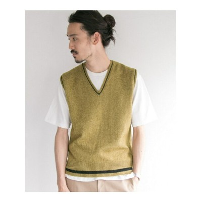 【SALE/40%OFF】URBAN RESEARCH MHL. 7G KNIT VEST アーバンリサーチ カットソー【RBA_S】【RBA_E】【送料無料】