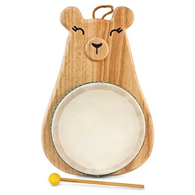Green Tones / Award-Winning Momma Bear Drum with Mallet 3718 by Green Tones