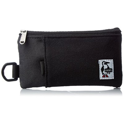 [チャムス] スマートフォンケース Smart Phone Case Sweat Nylon CH60-2052-A046-00 K018 Black/Charcoal