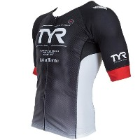 TYR(ティア) FRONT ZIPPER TRI SINGLET TMSG2-18S BK L