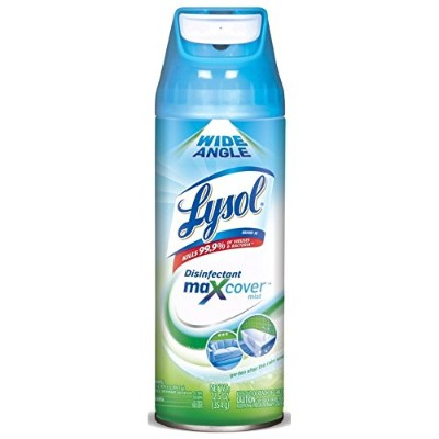 Lysol Max Cover Disinfectant Mist, Garden After the Rain, 12.5 oz by Lysol