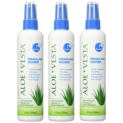 Aloe Vestaテδづつョ Perineal/Skin Cleanser , 8 oz Bottle - Pack of 3 by ConvaTec