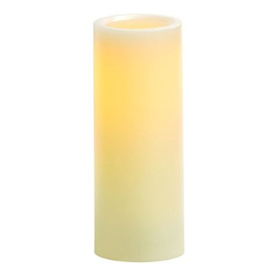 Candle Impressions cat50301cr01 6-inch Smooth Flameless Candle withバニラ香料、クリーム 8-Inch ピンク CAT64800CR0...