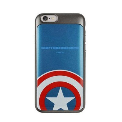 【 iPhone6 / iPhone6s 共用 ケース カバー 】【正規品 Marvel Slide Case マーベル スライドー カード収納 ★日本国内発送】 iphone6 iphone6S...