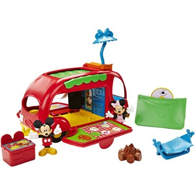 Fisher-Price Disney Mickey Mouse Clubhouse Cruisin' Camper [並行輸入品]