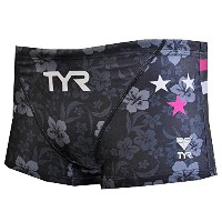 TYR(ティア) 【TYR LOGO】MEN'S SHORT BOXER BLOGO-17S ブラック L