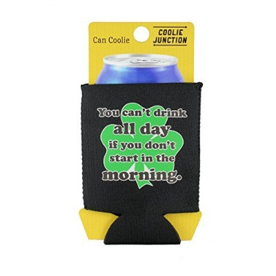 (Black) - Coolie Junction Drink All Day Funny Can Coolie