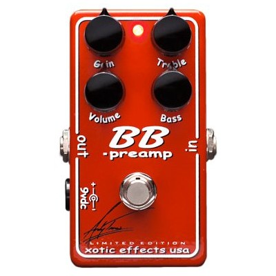 Xotic BBP-AT BB Preamp - Andy Timmons シグネチャーモデル