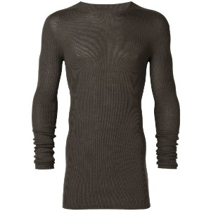 Rick Owens classic fitted sweater - グリーン
