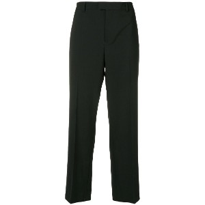 Red Valentino cropped tailored trousers - ブラック