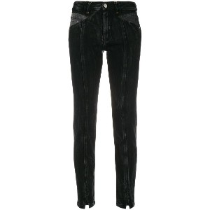 Givenchy classic skinny-fit jeans - ブラック