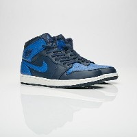送料無料 Men's メンズ 店舗限定 Jordan brand Air Jordan 1 Mid Obsidian/Game Royal/Summit White 554724-412 ジョーダン...