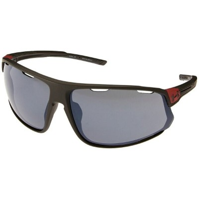 アンダーアーマー メンズ スポーツサングラス【UA Changeup】Satin Carbon/Red Frame/Gray Multiflection Lens