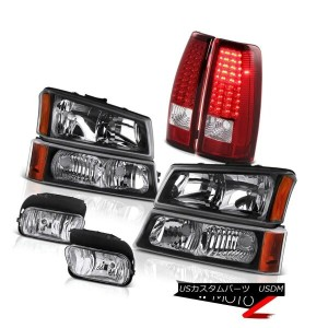 テールライト 03 04 05 06 Silverado SS Bumper+Headlamp SMD LED Rear Tail Lights Bumper Foglamp 03 04 05 06...