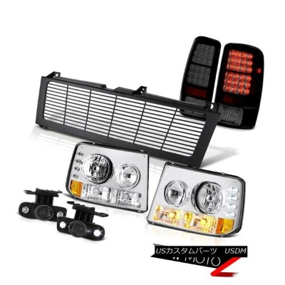 テールライト 2000-2006 Suburban 5.7L Crystal Headlight Tail Lights Projector Fog Black Grille 2000...