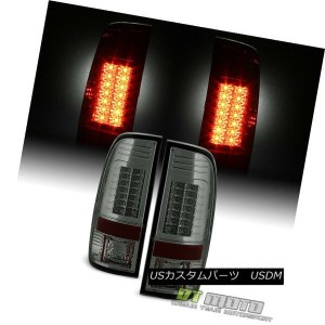 テールライト Smoke 2008-2016 Ford F250 F350 superduty G2 Lumileds LED Tail Lights Left+Right 煙2008...