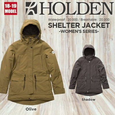 18-19 HOLDEN (ホールデン) W's SHELTER JACKET / 早期予約割引10%OFF (ウェア) 【送料無料】【代引き手数料無料】【日本正規品】