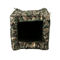 Toparchery Folding Slingshot Target Box 40x40x40cm Recycle Ammo Hunting Shooting Practice