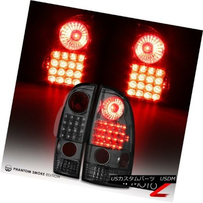 テールライト 2005-2015 Toyota Tacoma TRD SR5 Pre/X-Runner Smoke LED Tail Light SMD Brake Lamp 2005...