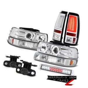 テールライト 1999-2002 Silverado 5.3L Taillamps Roof Cab Light Bumper Headlamps Foglights LED 1999-2002...