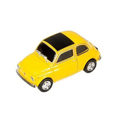 AutoDrive Fiat 500 yellow 16 GB USBフラッシュメモリ 19097