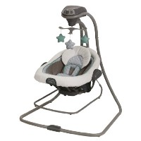 Graco Duet Connect LX Swing and Bouncer, Manor by Graco [並行輸入品]