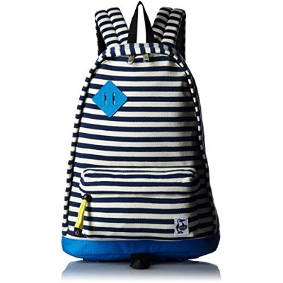 [チャムス] リュック Classic Day Pack Sweat Nylon NVY・Natural/Blue