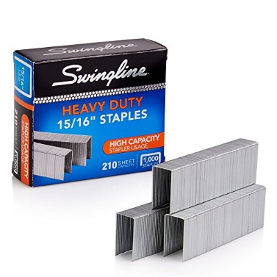 S.F. 13 Heavy-Duty 15/16 Inch Leg Length Staples, 210-Sheet Capacity, 1,000/Box (並行輸入品)