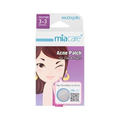 Miacare for Day & Night Acne Patch 6 Pcs by Miacare