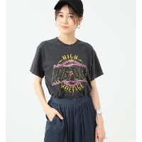 GOOD SPEED / ACDC Higt Voltage Tシャツ【ビームス ウィメン/BEAMS WOMEN レディス Tシャツ・カットソー BLACK ルミネ LUMINE】