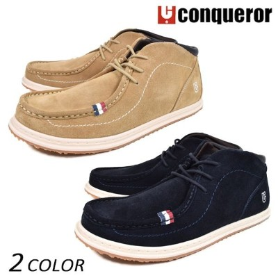 SALE セール 57%OFF メンズ シューズ conqueror コンカラー FLOATER SUEDE EE3 K27