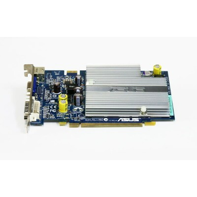 ASUSTeK GeForce 7600 GS 512MB DVI/VGA/TV-out PCI Express x16 EN7600GS SILENT/HTD/512M/A【中古】...