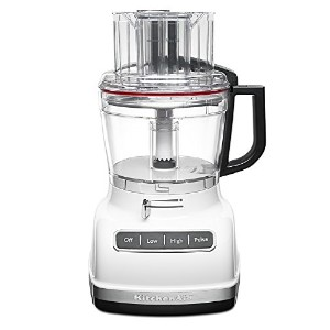 KitchenAid kfp1133cu 11-cup Food Processor with ExactSliceシステム – Contourシルバー 11-Cup ホワイト KFP1133WH