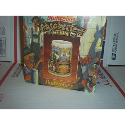 anheuser-busch 1996オクトーバーフェストStein cs291 Germany German Budweiser Bud新しい