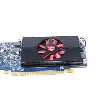 AMD Radeon HD 7570 1GB DDR5 PCIe x16 DVI DisplayPort ビデオカード Dell 4C5DK ロープロファイル