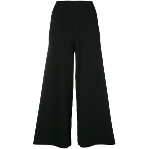 Theory flared cropped trousers - ブラック
