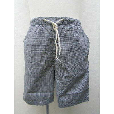 【H.UNIT STORE LABEL】( エイチユニットストアレーベル)「Glen check easy shorts 」