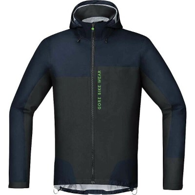 ゴアウェア メンズ 自転車 アウター【Power Trail GTX Active Jacket】Black Iris / Black