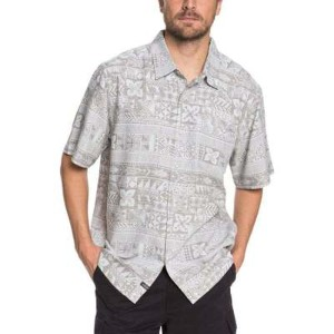 クイックシルバー その他トップス Waterman Akuaku Fish Short Sleeve Shirt Highrise