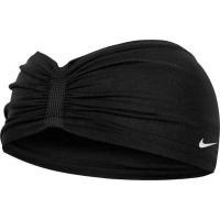 ナイキ ヘアアクセサリー Nike Seamless Wide Headband Black/White