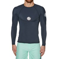 リップカール ラッシュガード Rip Curl Bomb Long Sleeve Rash Vest Navy