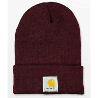 カーハート ニット Carhartt Watch Port Beanie Dark purple