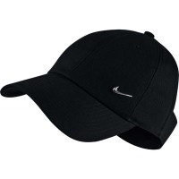 ナイキ サンバイザー Nike Sportswear Open Back Visor Hat Black