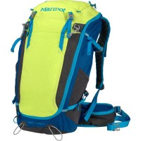 マーモット バックパック・リュック Marmot Kompressor Verve 32L Internal Frame Pack Green Lime/Atomic Blue