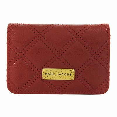 【MARC JACOBS】 マーク ジェイコブスBusiness Card Holder レッド名刺入れ/カードケース/ギフト/プレゼント/送料無料/記念日/クリスマス/誕生日/ホワイトデー...